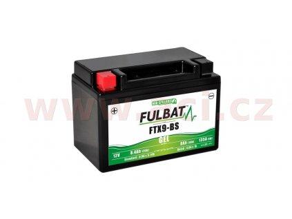 baterie 12v ftx9 bs gel 8 4ah 135a bezudrzbova gel technologie 150x87x105 fulbat aktivovana ve vyrobe i188784