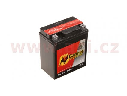 baterie 12v ytx7 l bs 6ah 100a banner bike bull agm 114x71x131 i93536