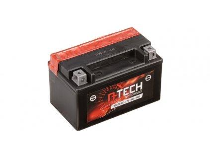 baterie 12v ytx7a bs 6ah 90a bezudrzbova mf agm 150x87x94 a tech vc baleni elektrolytu i138306