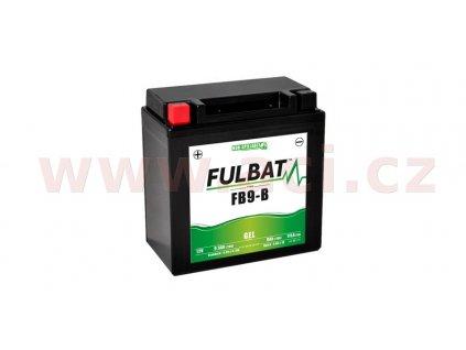 baterie 12v ytx9a bs 8 5ah 115a bezudrzbova mf agm 135x75x139 fulbat aktivovana ve vyrobe i138308