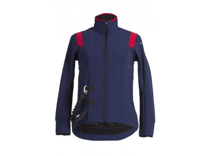 air sell bunda priprava na airbag modra cervena kvalitni jezdecka