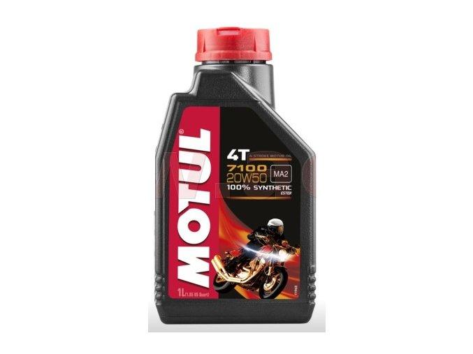 olej motul 7100 20w 50 4t 1 l motorkovy olej