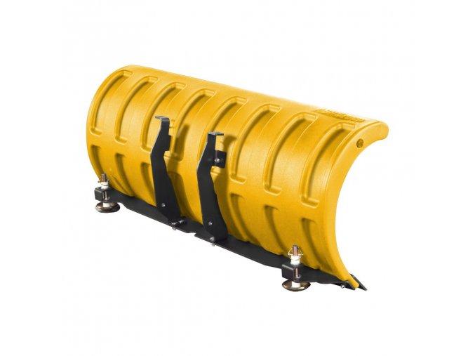 radlice shark na snih snehove radlice 132cm zluta vcetne adapteru tvrzdeny plast plastova nova levna znackova na ctyrkolku trikolku