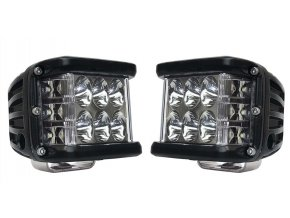 pridavna svetla shark led single side shooter cree led 45w at pair packing buggy ctyrkolku motorku rampa deni sviceni pribram