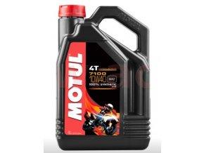 olej motul 7100 10w 40 4t 4 l velke baleni do motorky kvalitni