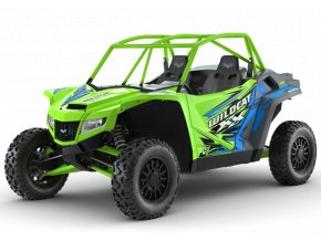 WildcatXX green web buggy side by side utv
