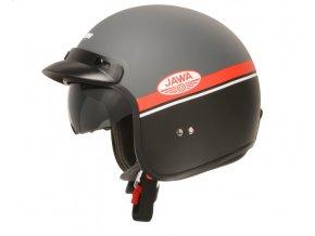 prilba oxigen jawa ohc cassida ceska helma seda matna cervena cerna bila nova levna kvalitni skutrova chopper