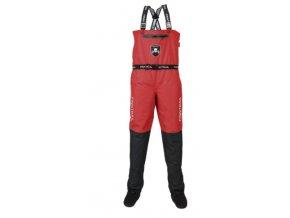 finntrail waders alex red kalhoty