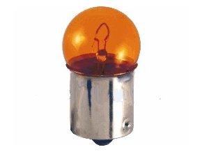 Žárovka BA15S G18 oranžová
