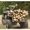 vlek prives vozik na drevo na pisek travu do lesa profesionalni za atv ctyrkolku trikolku kolku 4kolku