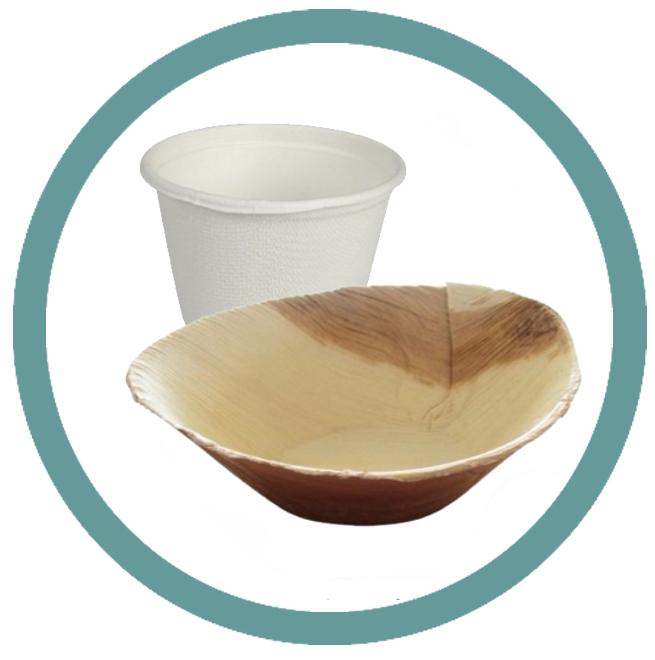 Ekologické talíře a misky