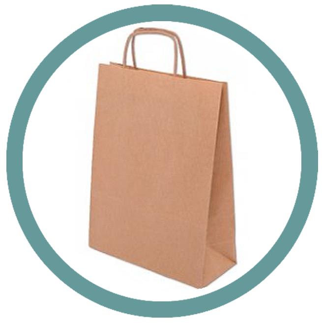 Papírové tašky PLUS