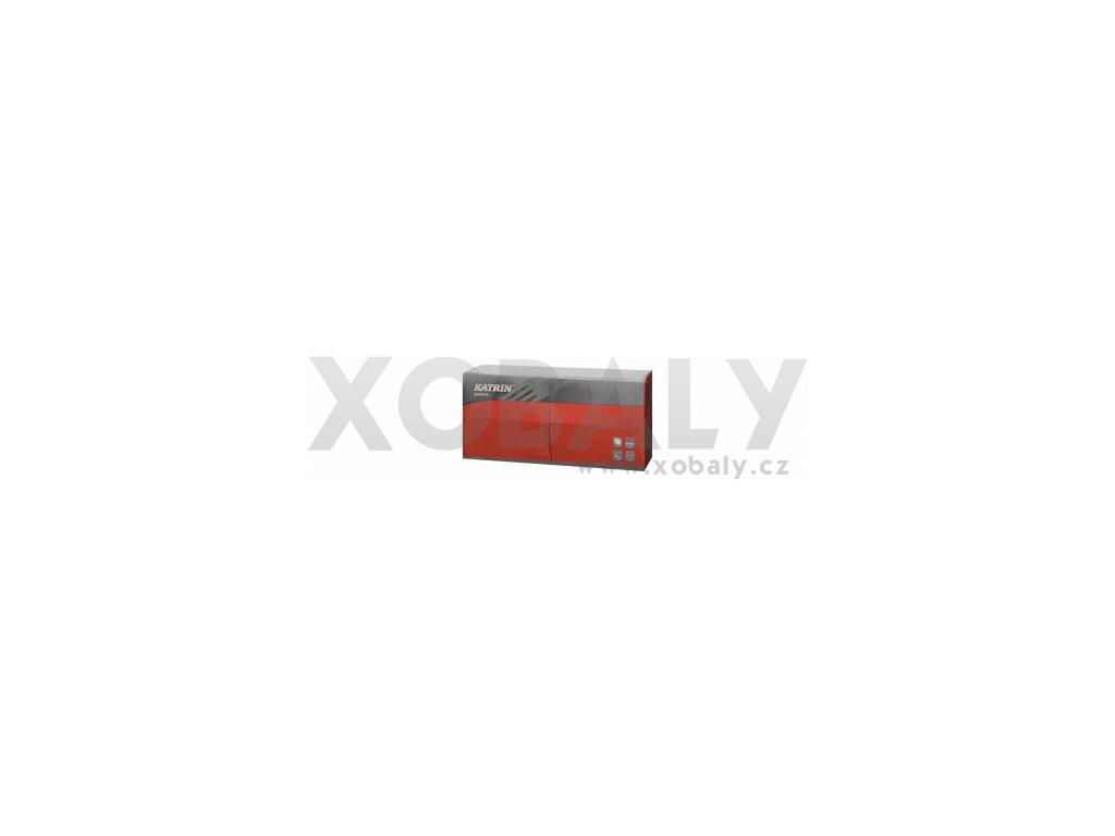 Ubrousky papírové Dinner 3-vrstvý, skládání 1/8 - 115826 - Červená