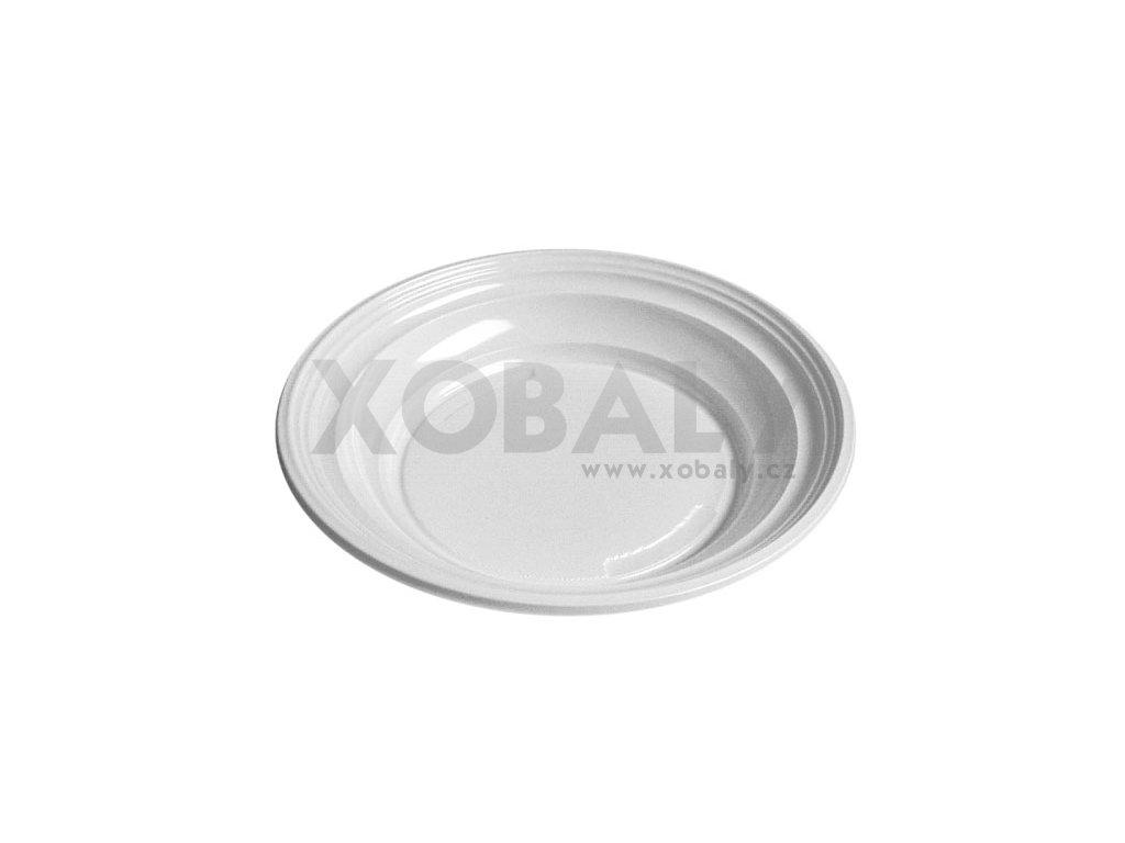 Talíř hluboký (cena za 100ks) - průměr 20,5cm