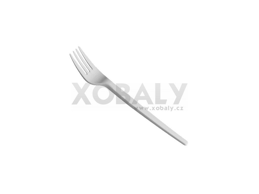 Vidlička bílá (cena za 100ks)