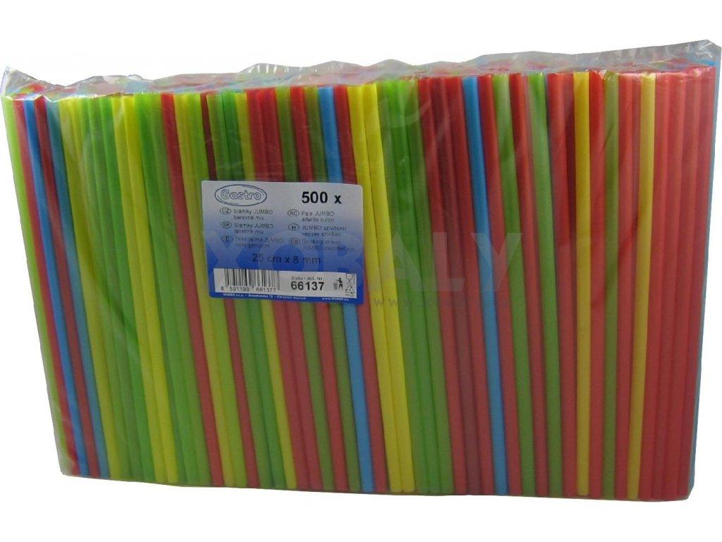 Brčko JUMBO mix barev 25cm (cena za 500ks)