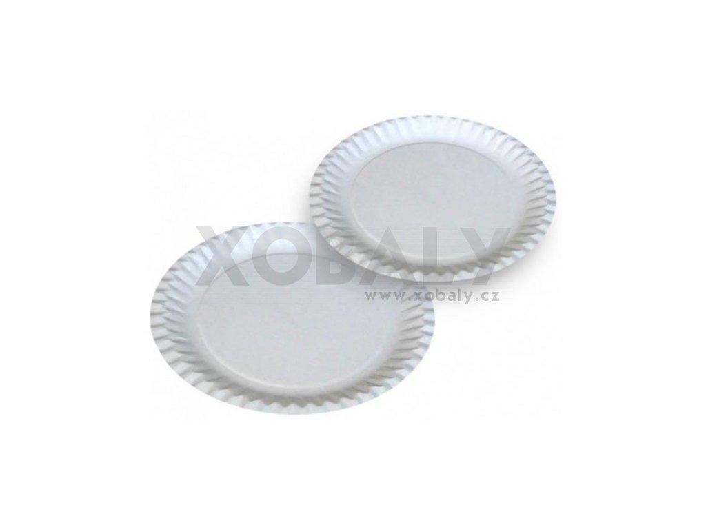 Papírový talíř 18cm