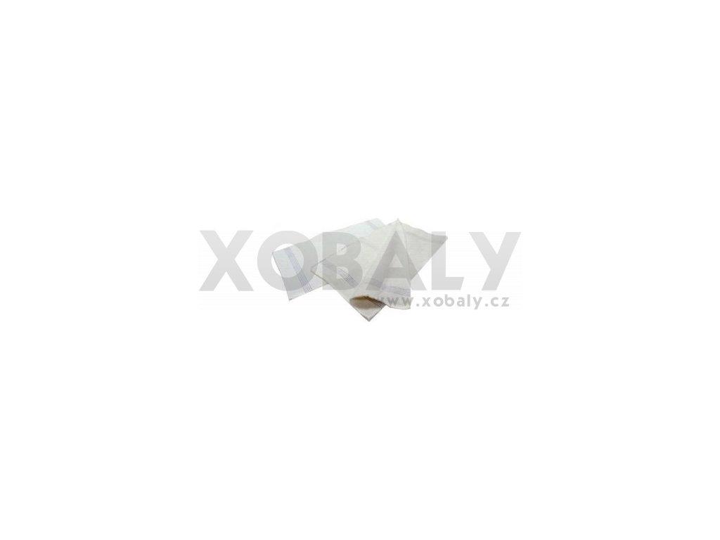 Hadr na podlahu bílý tkaný 60x80 - 95.0033