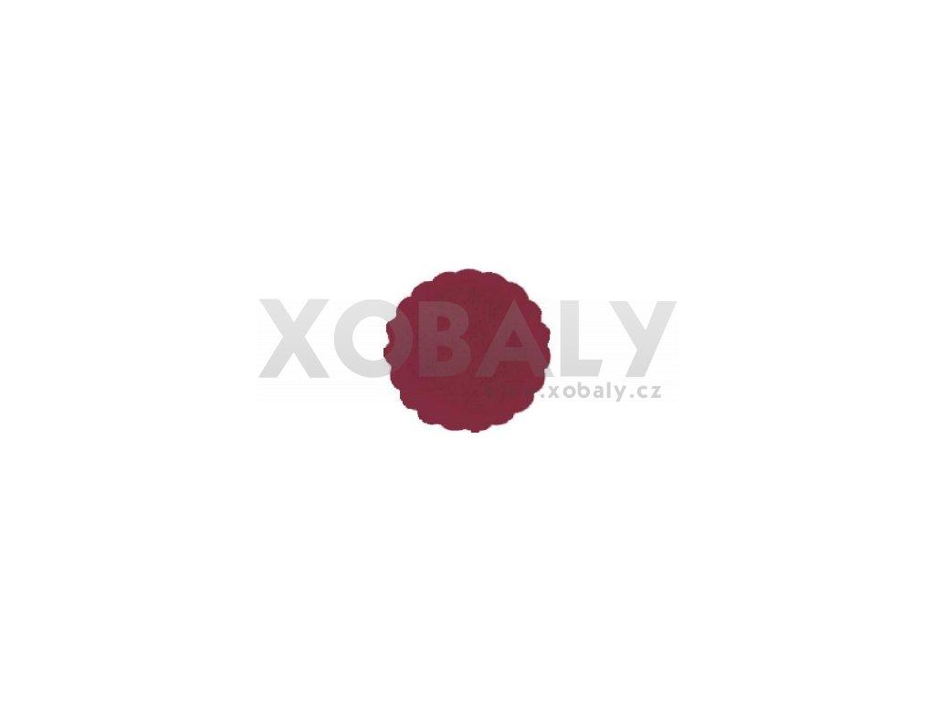 Rozetky papírové 9cm bordo (cena za 500ks) - 36.0038