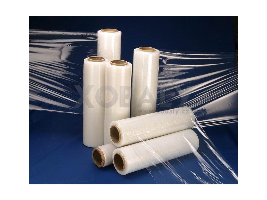 Ruční strečová folie 500mm/20my- 2,4kg - transparentní