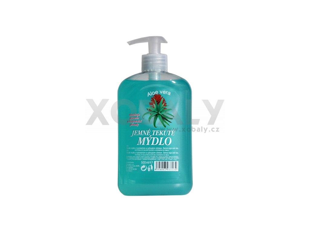 Tekuté mýdlo Aloe Vera 500ml s pumpičkou