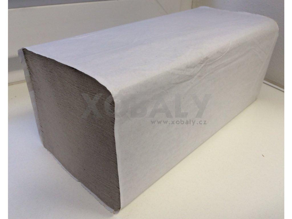 Ručníky papírové skládané ZZ šedé - 92.0011 - 5000ks