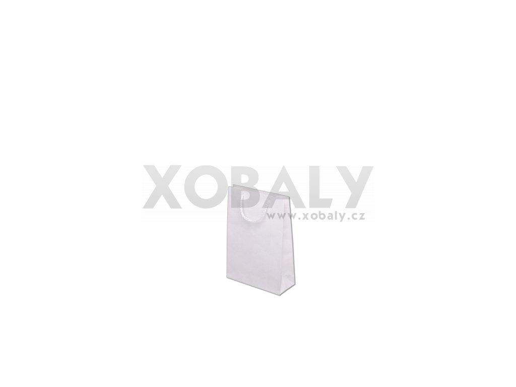 Taška barevná papírová 170x70x250mm - bílá