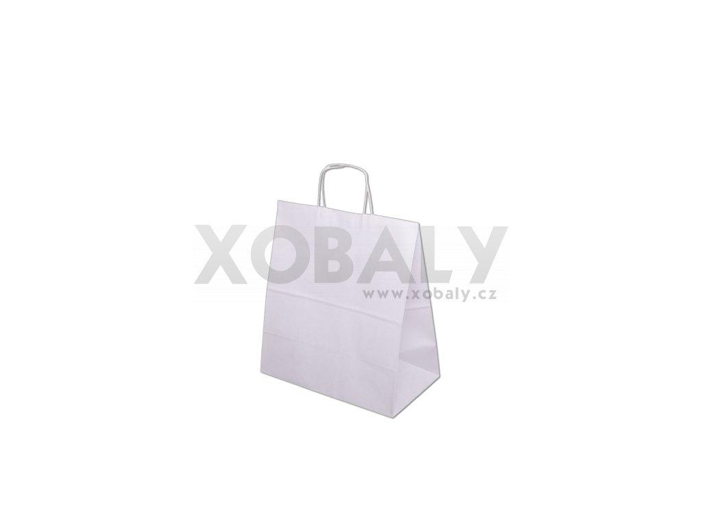 Papírová taška 305x170x340mm - bílá