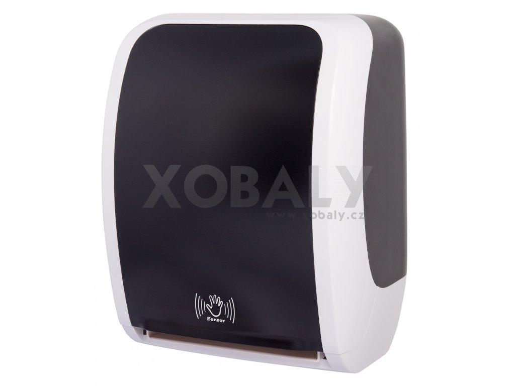 Bezdotykový elektrický zásobník na ručníky v roli LAVELI - 2020 - černo/bílý