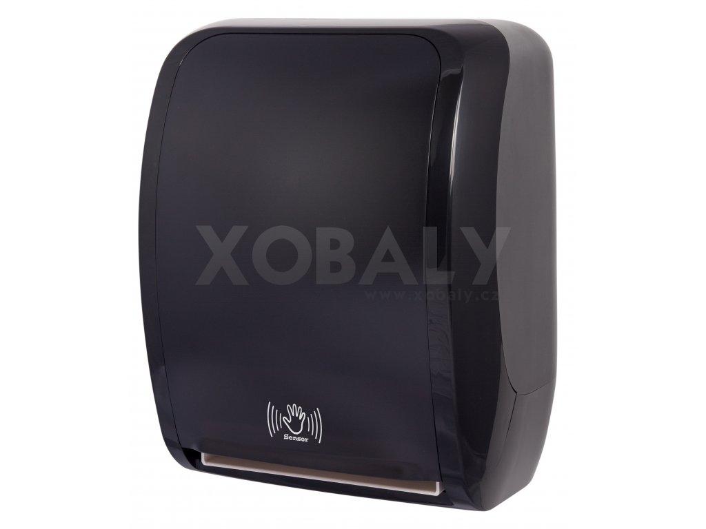 Zásobník na ručníky v roli LAVELI senzor - 2030 - černo/černý