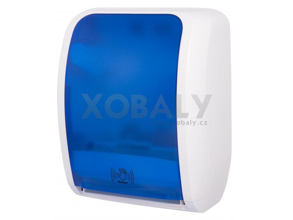 Elektrický Zásobník na ručníky v roli LAVELI senzor - 2040 - modro/bílý