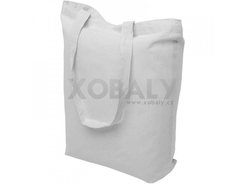 Bavlněná nákupní taška bílá - 15.0036 - 390x410mm