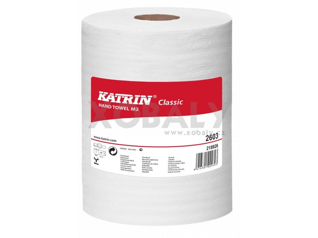 Papírový ručník rolovaný KATRIN Classic M2 - 2603