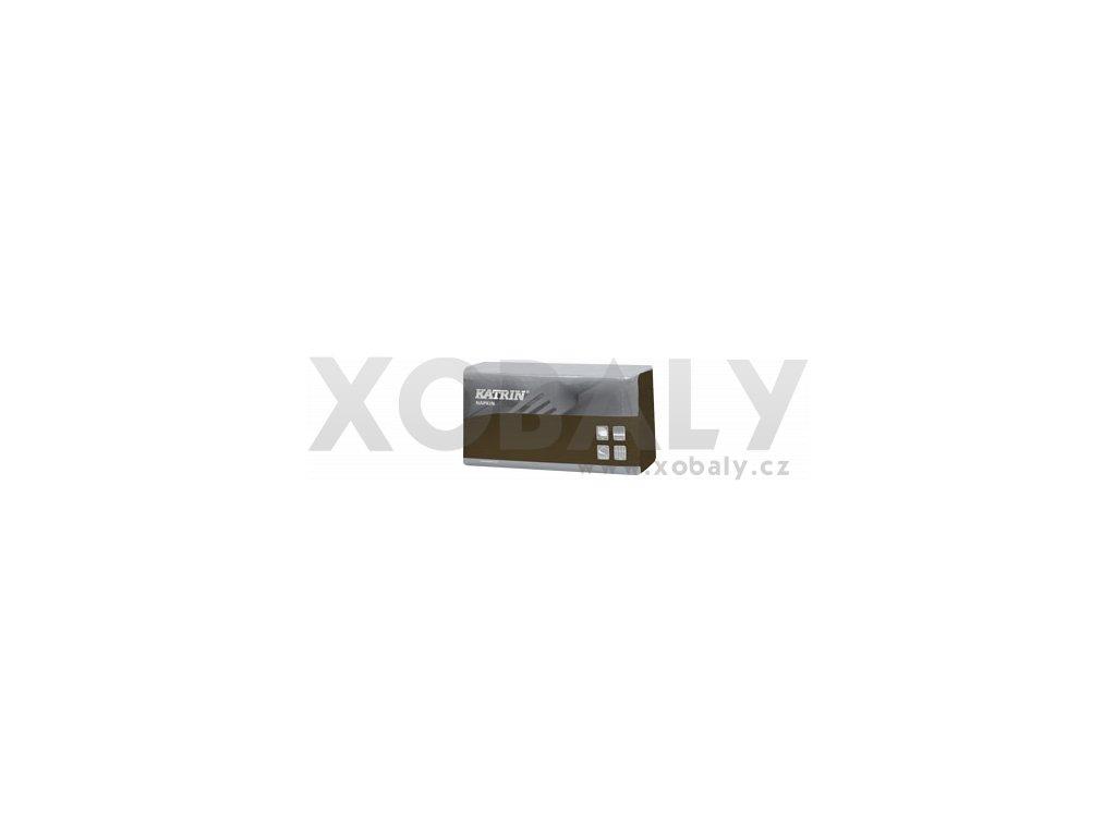 Ubrousky papírové DecoSoft (R) UNI 1/8 - 117004 - Mocca