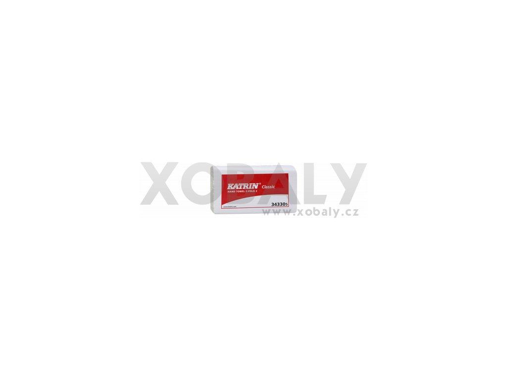 Papírové ručníky KATRIN CLASSIC C-Fold 2 - 343305