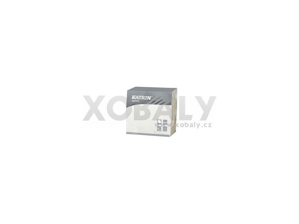 Papírové ubrousky DecoSoft (R) UNI 1/4 - 116854 - Bílá