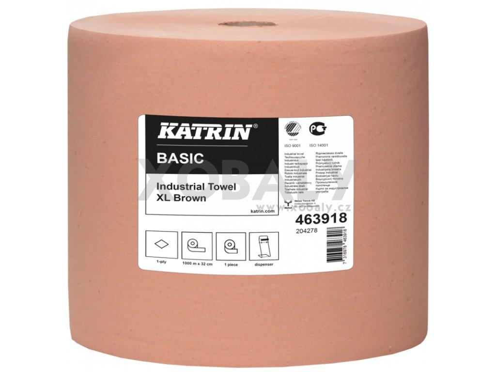 Průmyslové utěrky KATRIN BASIC XL Hnědá - 463918