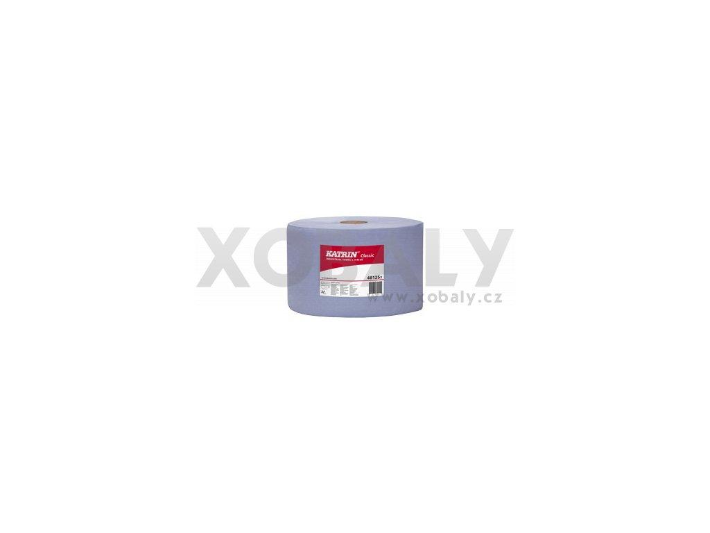 Průmyslová papírová utěrka KATRIN CLASSIC L 3 Modrá, laminovaná - 481252