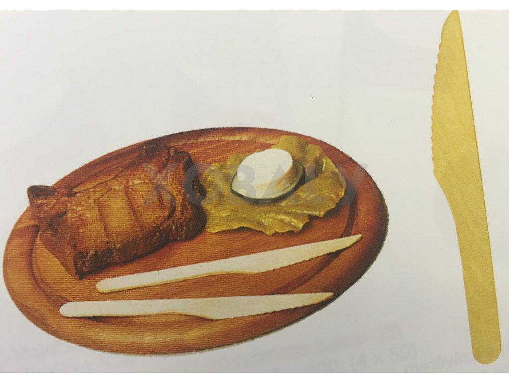 Nůž dřevěný 16,5cm (cena za 100ks)