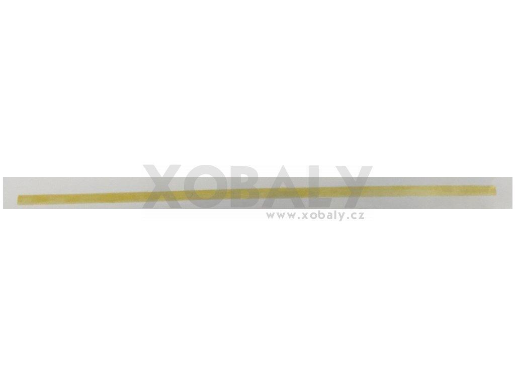 Dřevěné špejle nehrocené 30cm (cena za 100ks)