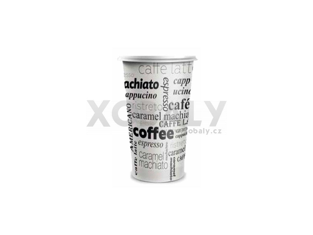 Kelímek na kávu COFFEE TO GO 400ml - Papírový (cena za 50ks)