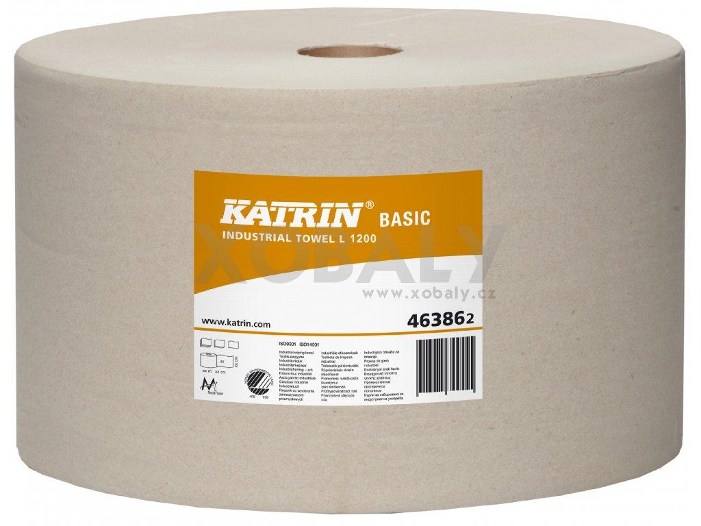 Průmyslové papírové utěrky KATRIN BASIC L 1200
