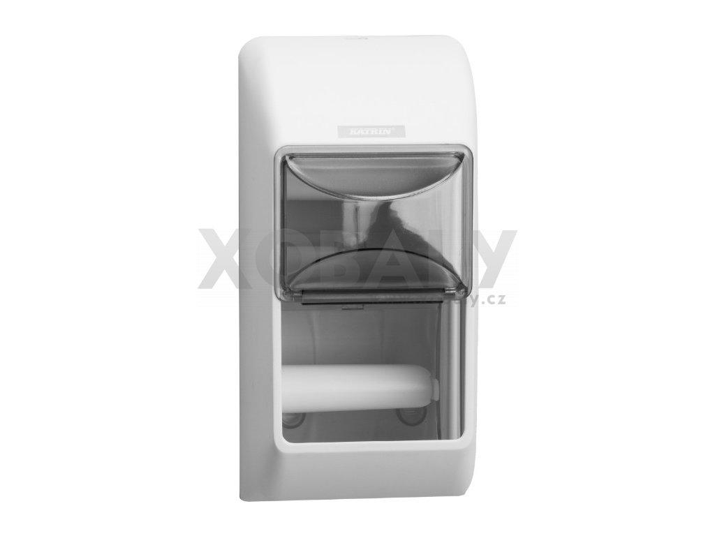 Zásobník na 2 malé role toaletního papíru Katrin Inclusive