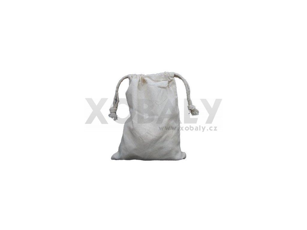 Bavlněný sáček se zatahováním 15x20cm