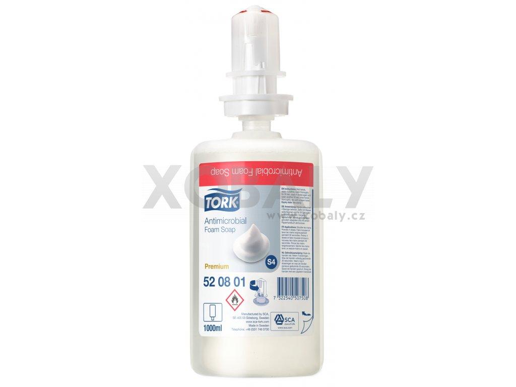 Tork antibakteriální pěnové mýdlo