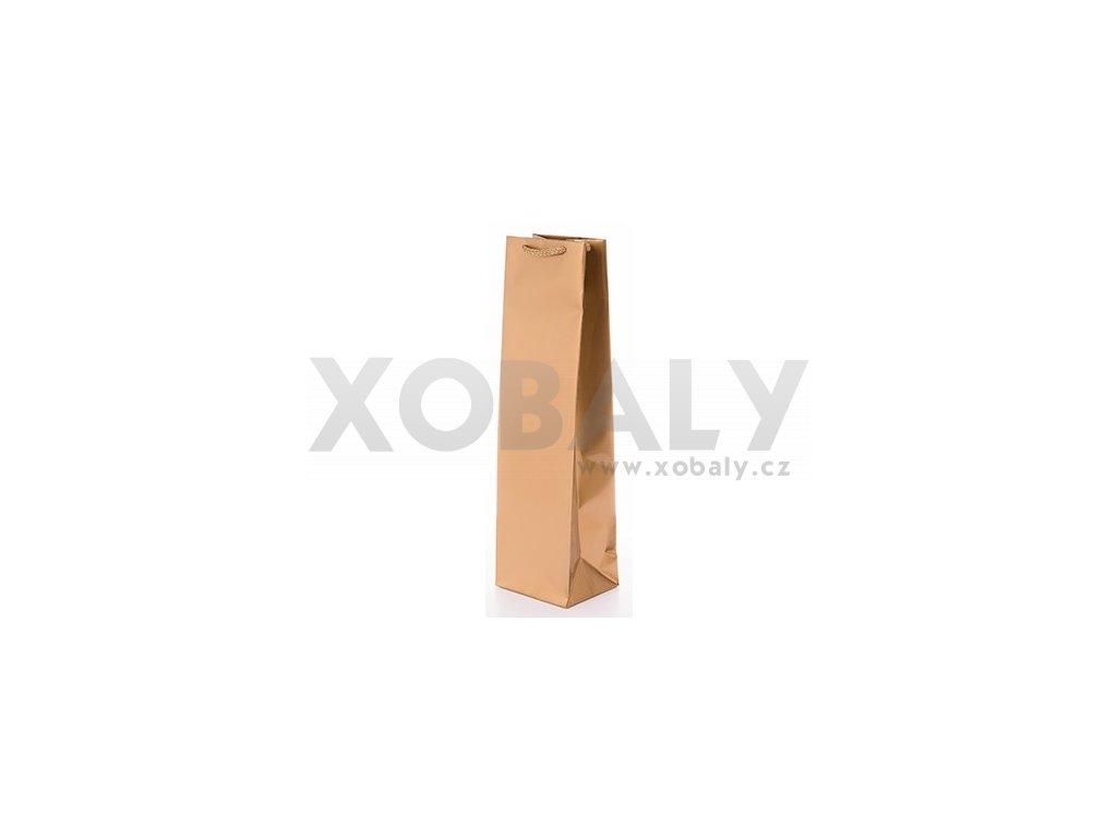 Papírová taška na víno 110x90x400mm
