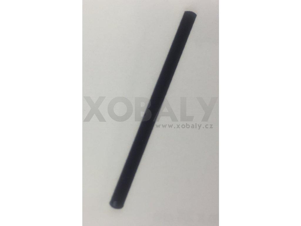 Brčko koktejlové černé 13cm, pr.5mm - 100ks