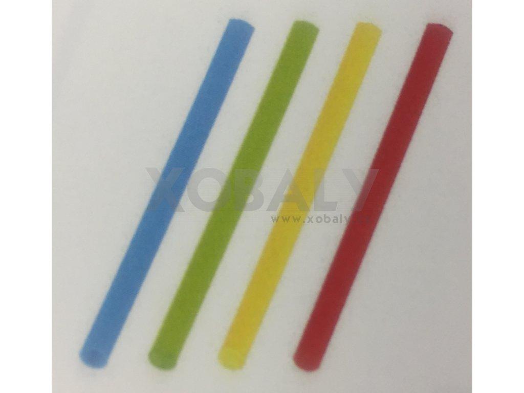 Brčko koktejlové Mix barev 13cm, pr.5mm - 100ks