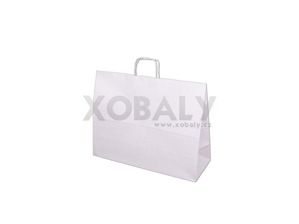 Papírová taška 450x170x480mm - bílá
