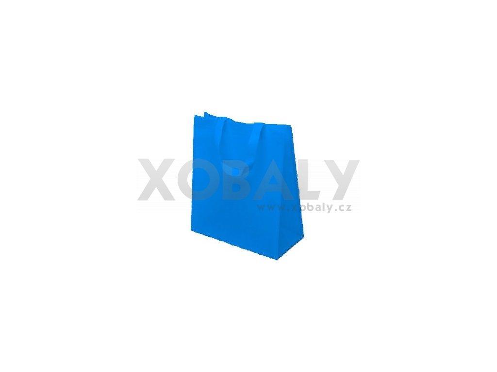 Taška z netkané textílie 30+15x35cm s krátkým uchem 38cm
